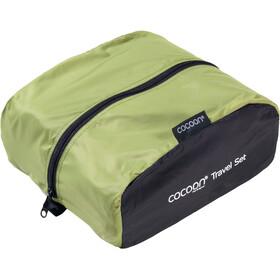 Cocoon Travel Set ultralight wasabi/black